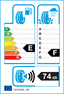 etichetta europea dei pneumatici per federal Himalaya Suv 225 60 17 103 T 3PMSF BSW M+S Studdable XL