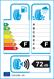 etichetta europea dei pneumatici per Federal Himalaya Ws2 205 60 16 96 T 3PMSF XL