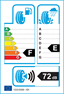 etichetta europea dei pneumatici per Federal Super Steel 595 205 50 15 89 W SEMI-SLICK