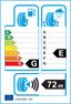 etichetta europea dei pneumatici per Federal Super Steel 595 595 595 19515 82 W