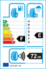 etichetta europea dei pneumatici per Firestone F-590 Fuel Saver 155 70 13 75 T