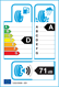 etichetta europea dei pneumatici per Firestone Firehawk Sz90 205 55 16 91 V FR