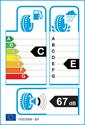 etichetta europea dei pneumatici per Firestone MULTIHAWK 175 65 14