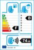 etichetta europea dei pneumatici per Firestone Vanhawk 2 Winter 205 65 15 102 T C M+S