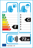 etichetta europea dei pneumatici per Firestone Winterhawk 2 Evo 185 65 14 86 T