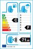 etichetta europea dei pneumatici per Firestone Winterhawk 165 65 13 77 T M+S
