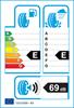 etichetta europea dei pneumatici per Fortuna Ecoplus 4S 145 70 13 71 T