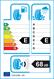 etichetta europea dei pneumatici per Fortuna Gowin Hp 185 65 15 88 T 3PMSF M+S