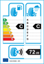 etichetta europea dei pneumatici per fortuna Winter Suv2 275 40 20 106 W 3PMSF C M+S