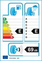 etichetta europea dei pneumatici per Fulda Krista Control HP 215 50 17