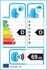 etichetta europea dei pneumatici per Fulda Kristall Montero 3 Ms 155 65 14 75 T 3PMSF M+S