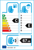etichetta europea dei pneumatici per Fulda Kristall Montero 3 195 60 15 88 T