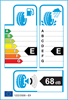 etichetta europea dei pneumatici per Fulda Kristall Montero 3 185 65 14 86 t 3PMSF M+S