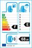 etichetta europea dei pneumatici per Fulda Kristall Montero 155 65 13 73 Q