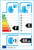 etichetta europea dei pneumatici per Fulda Kristall Montero 155 65 13 73 Q 3PMSF M+S