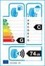 etichetta europea dei pneumatici per General Grabber At 245 75 16 120 Q FR M+S