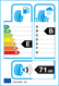 etichetta europea dei pneumatici per GI TI Winter W1 205 55 17 95 V 3PMSF BSW M+S XL