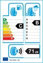 etichetta europea dei pneumatici per Gislaved Ultra Speed 225 50 17