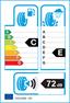 etichetta europea dei pneumatici per goform Braves Au518 265 40 20 104 W C XL
