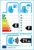 etichetta europea dei pneumatici per Goodride Sw618 Snowmaster 165 60 14 75 T 3PMSF M+S