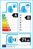 etichetta europea dei pneumatici per Goodyear Eagle F1 Asymmetric 3 235 60 18 107 V XL