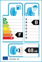 etichetta europea dei pneumatici per Goodyear EAGLE F1 ASYMMETRIC SUV 205 55 17