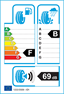 etichetta europea dei pneumatici per goodyear Eagle Nct5 A 245 45 17 95 Y BMW RUNFLAT