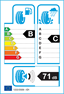 etichetta europea dei pneumatici per goodyear Eagle Touring 295 40 20 106 V FR M+S N0