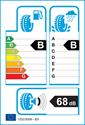 etichetta europea dei pneumatici per Goodyear EAGLE ULTRAGRIP GW-3 225 45 17