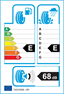 etichetta europea dei pneumatici per Goodyear Eagle Ultragrip Gw-3 245 50 17 99 H 3PMSF BMW M+S