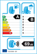 etichetta europea dei pneumatici per Goodyear Efficientgrip Performance 205 55 17 91 V DEMO