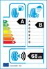 etichetta europea dei pneumatici per Goodyear Efficientgrip Performance 175 65 14 86 T XL