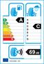 etichetta europea dei pneumatici per Goodyear Efficientgrip Performance 225 45 17 91 W FP