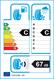 etichetta europea dei pneumatici per Goodyear Efficientgrip Suv 215 55 18 99 V XL