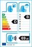 etichetta europea dei pneumatici per Goodyear Efficientgrip Suv 245 60 18 105 H M+S