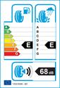 etichetta europea dei pneumatici per Goodyear GT-3 185 65 15