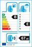 etichetta europea dei pneumatici per goodyear Ultra Grip Ice 2 225 55 17 101 T 3PMSF M+S XL