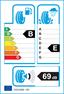 etichetta europea dei pneumatici per goodyear Ultra Grip Ice Gen-1 235 60 18 107 T 3PMSF G1 XL
