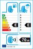 etichetta europea dei pneumatici per Goodyear Ultra Grip Performance 2 245 55 17 102 H BMW RUNFLAT