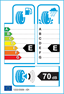etichetta europea dei pneumatici per Goodyear Wrangler At Adventure 225 75 16 108 T XL