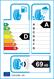 etichetta europea dei pneumatici per GT Radial Sportactive 2 225 45 18 95 Y XL