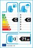 etichetta europea dei pneumatici per Hankook Kinergy 4S H740 215 45 16 90 V AO M+S XL