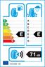 etichetta europea dei pneumatici per hankook Kinergy 4S H740 145 80 13 75 T 3PMSF M+S
