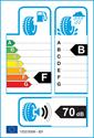 etichetta europea dei pneumatici per Hankook K107 VENTUS S1 EVO 225 45 17