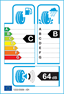 etichetta europea dei pneumatici per Hankook Ventus Evo 2 K117b 245 45 17 95 W HRS K1