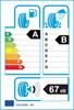 etichetta europea dei pneumatici per Hankook K127 Ventus S1 Evo3 205 55 17 95 W * BMW XL