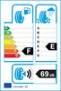 etichetta europea dei pneumatici per Hankook K715 Optimo 145 80 13 75 T