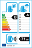 etichetta europea dei pneumatici per hankook Kinergy 2 K435 195 55 16 87 V