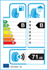 etichetta europea dei pneumatici per Hankook Kinergy Eco2 K435 165 70 13 83 T XL