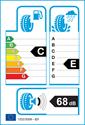 etichetta europea dei pneumatici per Hankook Optimo K415 215 55 17